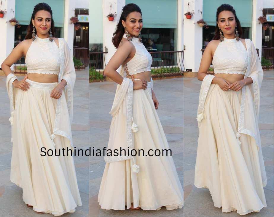 Swara bhasker for veere di wedding promotions in punit balana