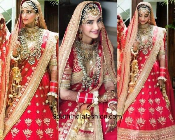 sonam kapoor wedding outfit