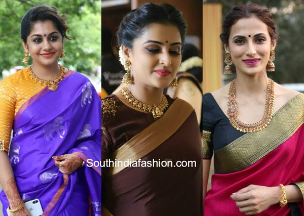 actress in traditional jewellery