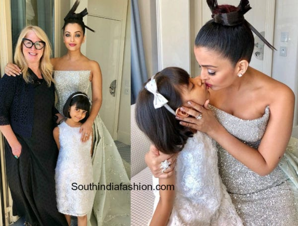 aishwarya and aaradhya at cannes 2018