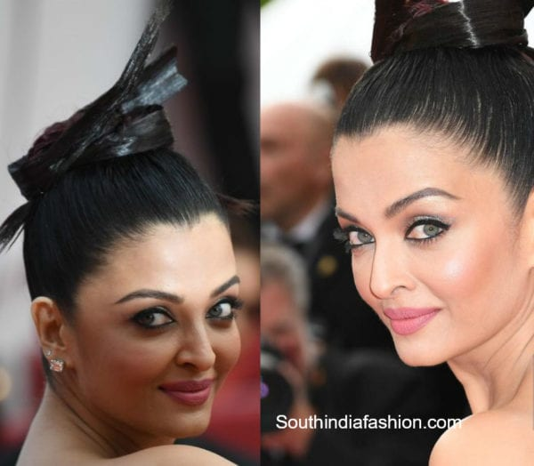 aishwarya rai hairstyle at cannes 2018