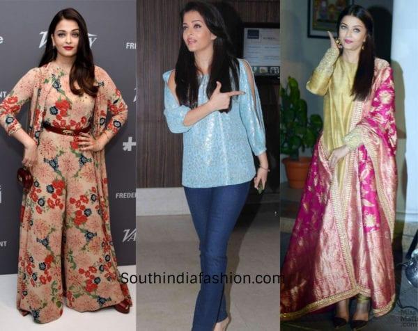 Aiahwarya Rai rocking various looks