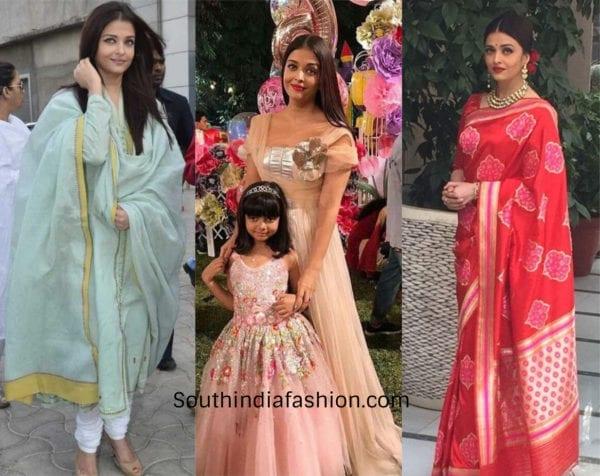 Aishwarya Rai a stylish mother
