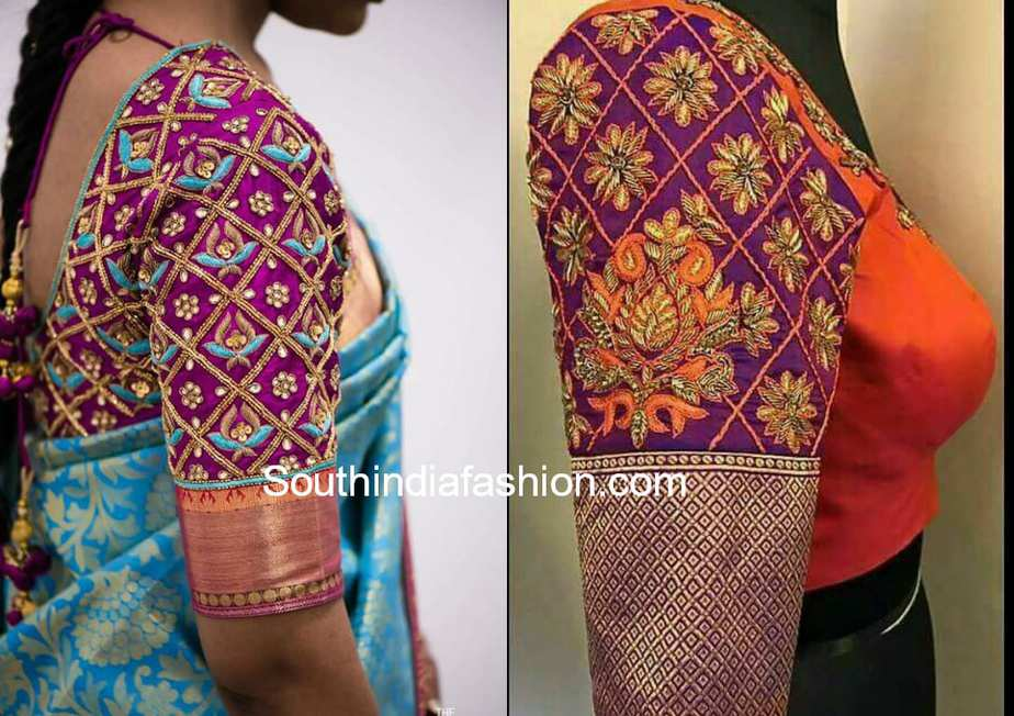Aari Work Blouse 2018 South India Fashion