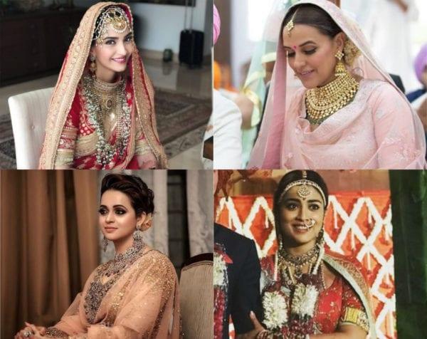 celebrity brides of 2018