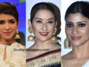 celebrities in big jhumkas