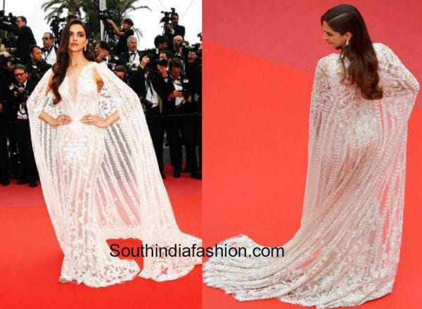 Deepika Padukone in Zuhair Murad at Cannes Film Festival 2018