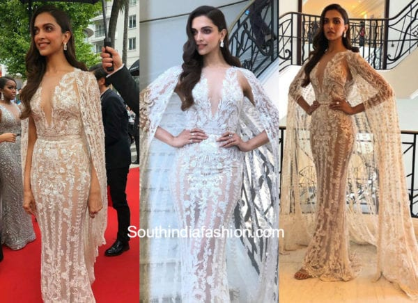 deepika padukone gown at cannes 2018