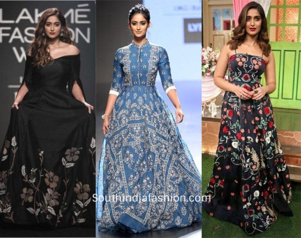 ileana Dcruz wearing gowns