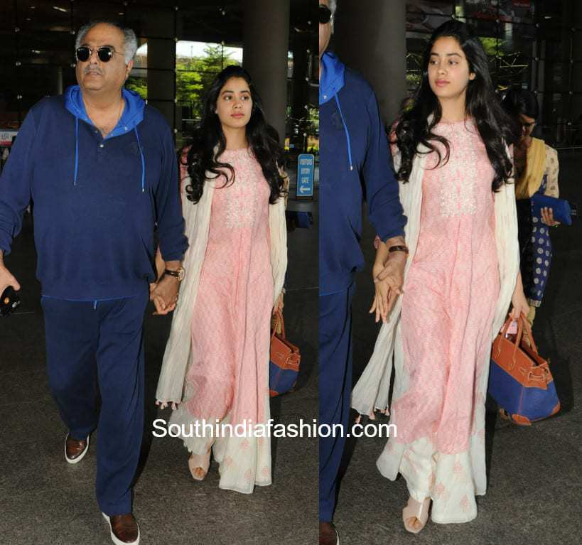 Jhanvi Kapoor makes an impressive style statement in a