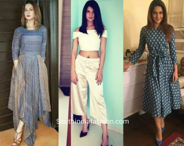 Jennifer Winget in casual outfits