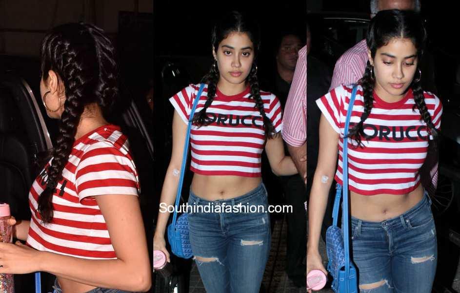 Janhvi Kapoor Hairstyles 3 Super Cute Hairstyles Of