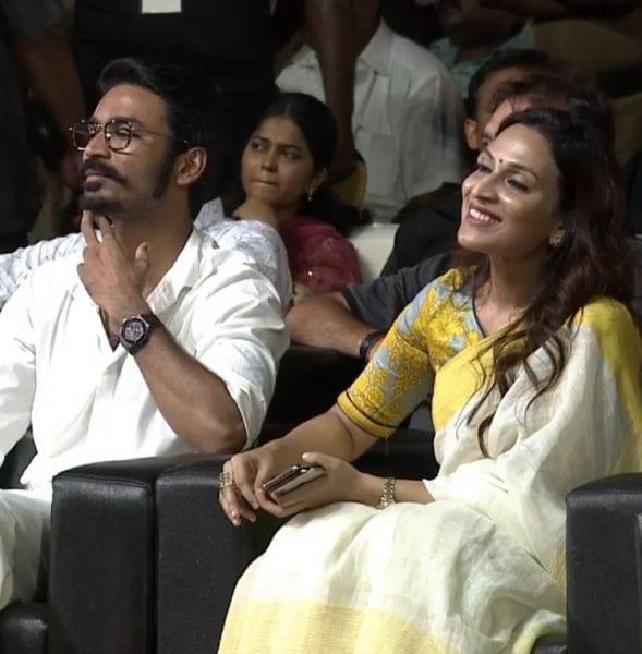 aishwarya dhanush at kaala audio launch