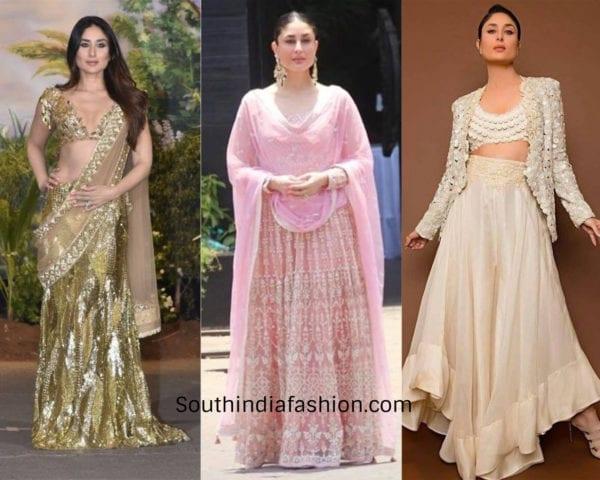 kareena kapoor in indian attires