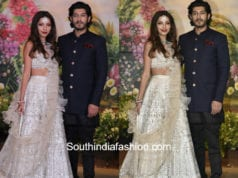 antara marwah and mohit marwah at sonam kapoor wedding reception