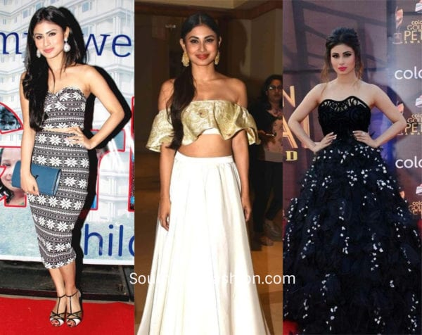 Mouni Roy in pretty dresses
