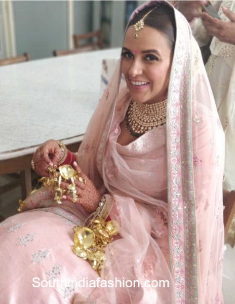 neha dhupia marriage pics