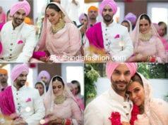 neha dhupia angad bedi wedding photos