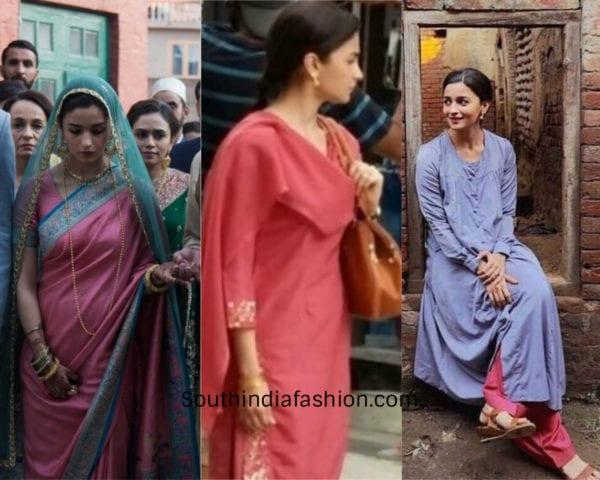 alia bhatt outfits in raazi