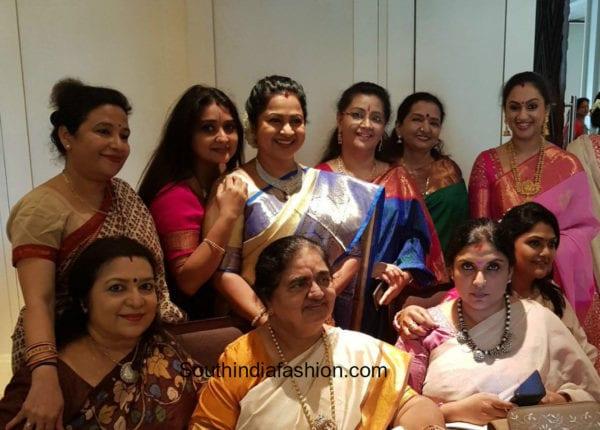 Radhika Sarathkumar's Daughter Rayane Baby Shower Pics