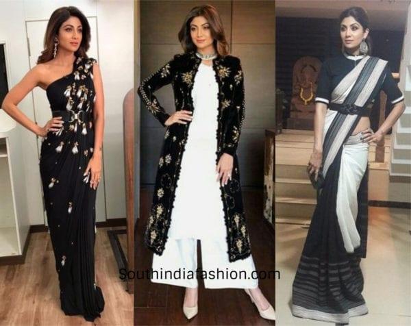 Shilpa Shetty in indowestern looks