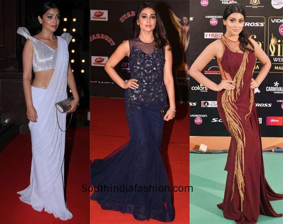 shriya saran dressed for events