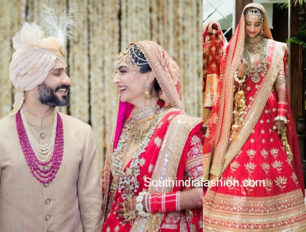 sonam kapoor anand ahuja wedding photos