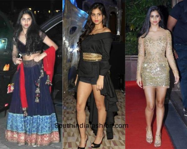 suhana khan at parties