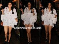 Janhvi Kapoor's casual summer style