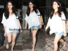 Sara Ali Khan in shorts