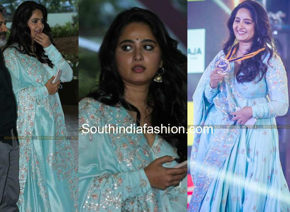 Anushka Shetty at the Behindwoods Gold Medal Awards