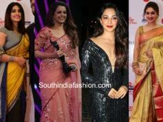 best dressed celebs at filmfare awards south 2018
