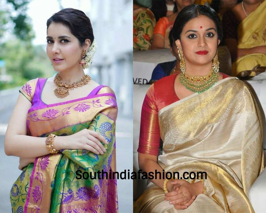 what jewellery to wear with sarees