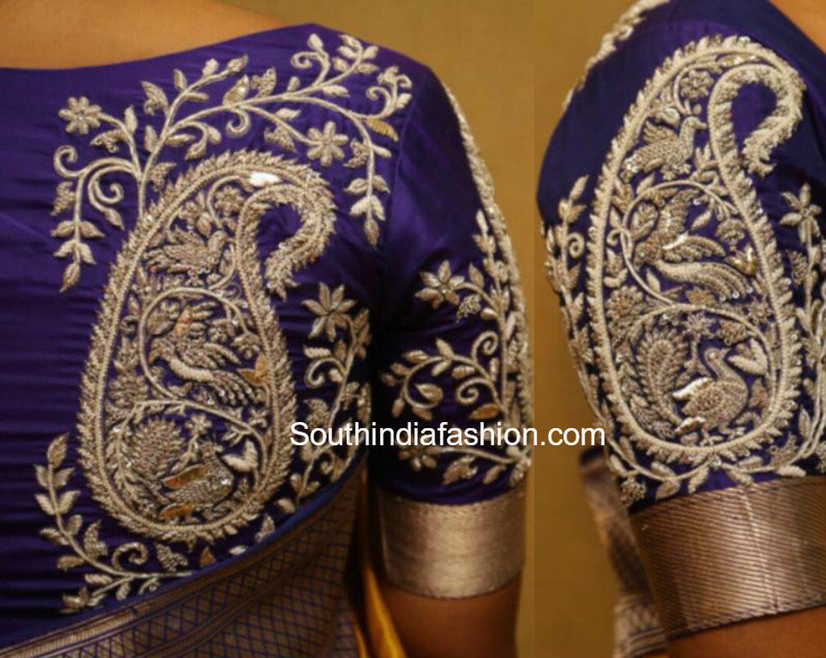 kanjeevaram blouse designs