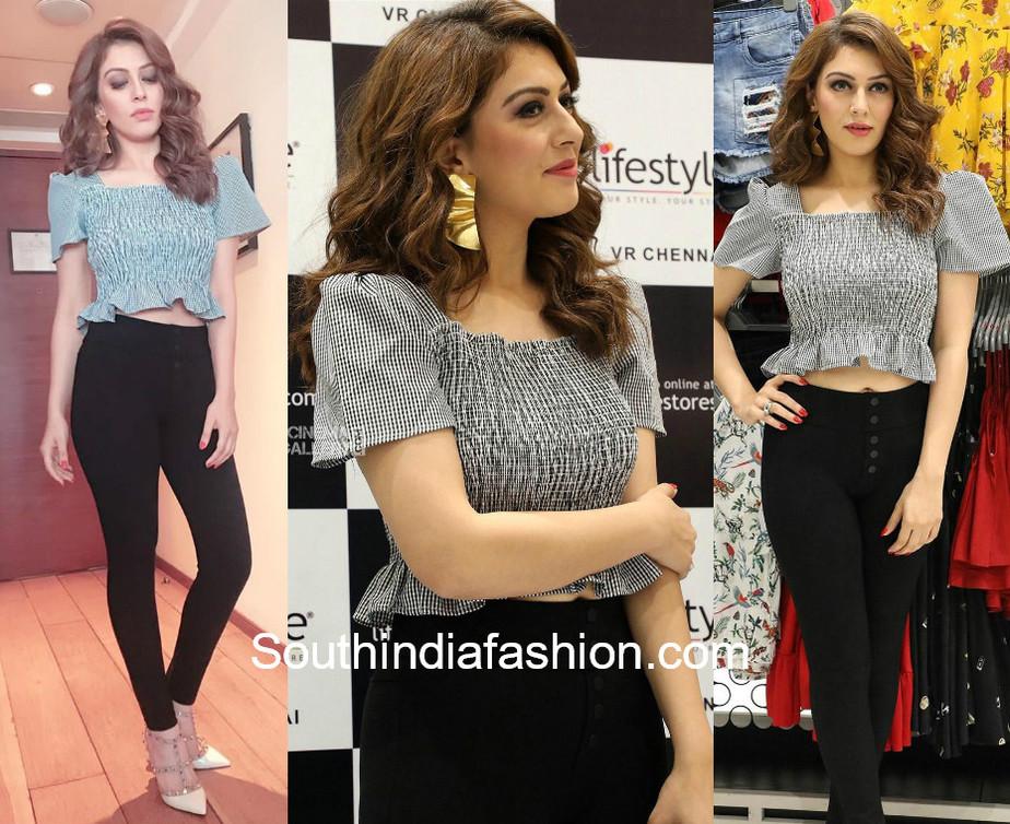 hansika lifestyle stores launch chennai