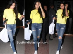 Janhvi Kapoor in casual outfit