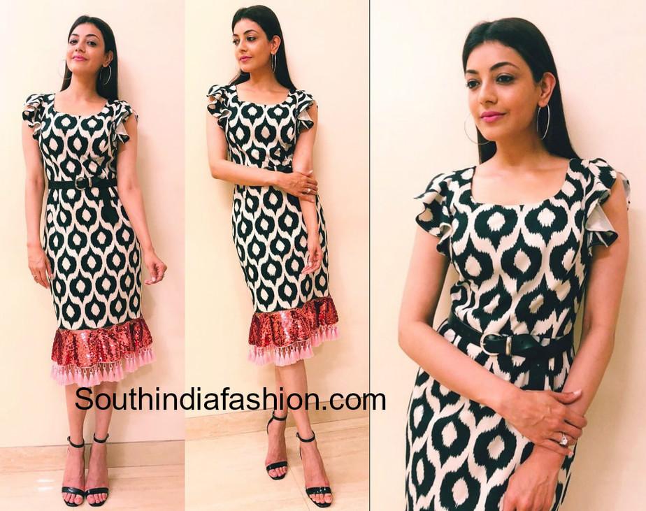 kajal aggarwal in sachin and babi � south india fashion