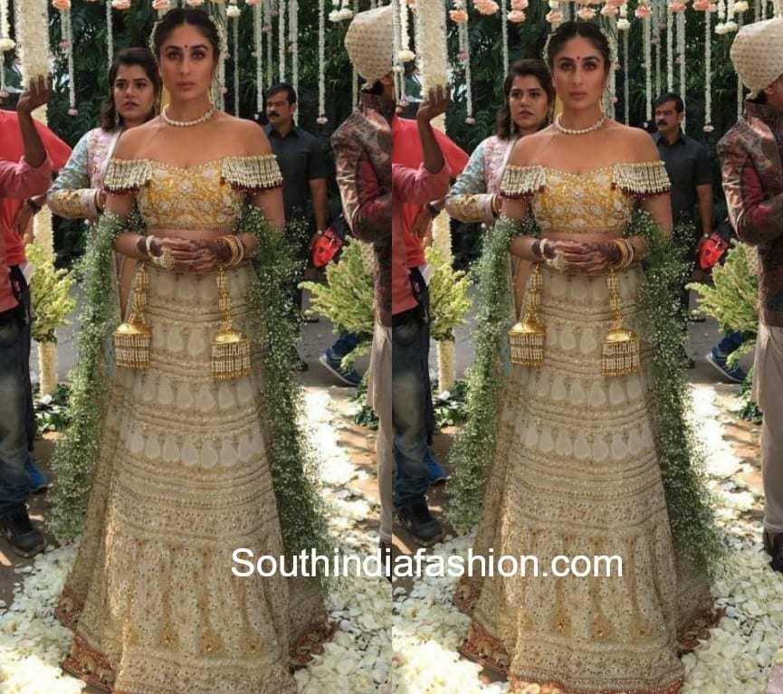 Veere Di Wedding Outfits.Decoding Kareena Kapoor S Bridal Look In Veere Di Wedding