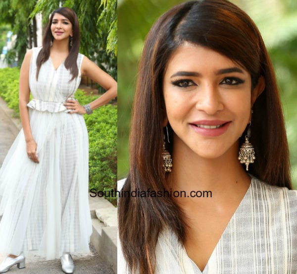 lakshmi manchu white dress w/o ram trailer launch