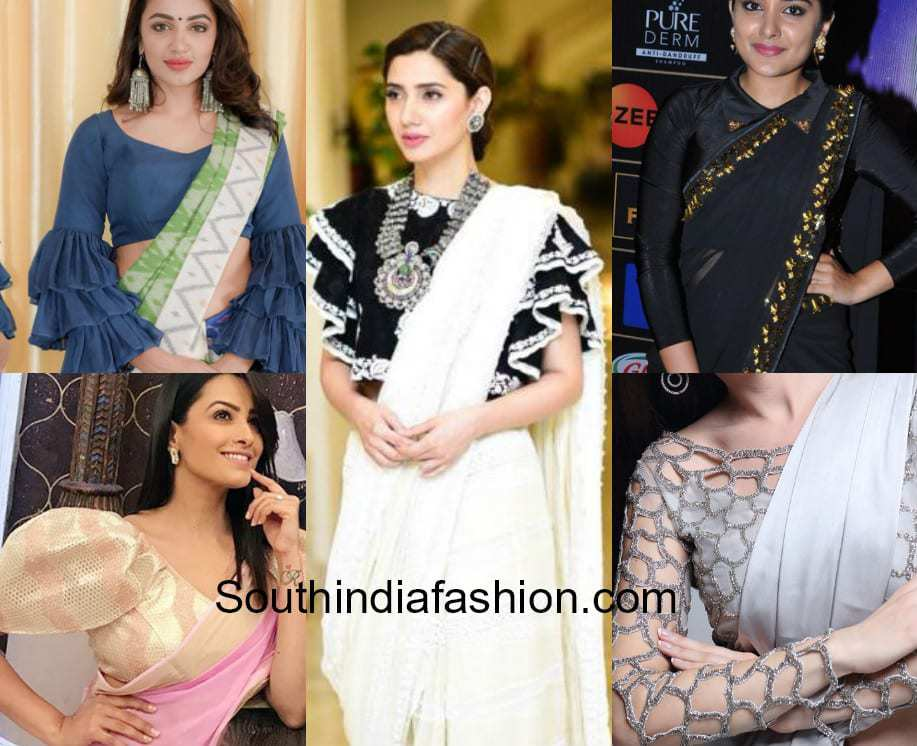 6 Modern Blouse Designs That Can Transform Your Saree Look