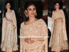 mouni roy lehenga arpita khan eid party