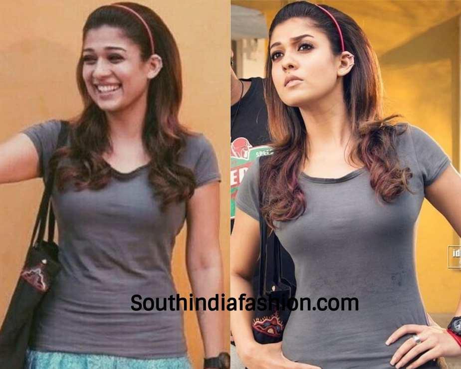 nayanthara hairband style