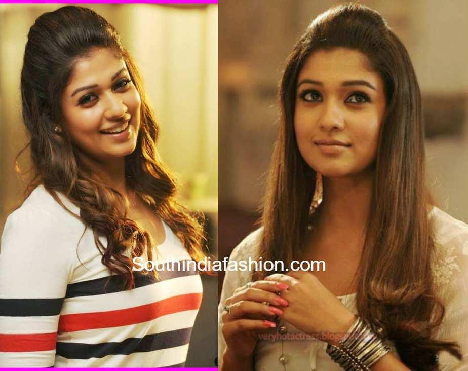 nayanthara puff hairstyle