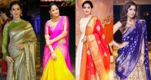 reuse old silk sarees