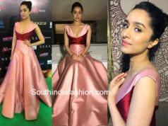 shraddha kapoor gown iifa awards 2018