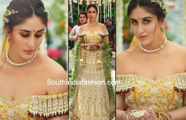 kareena kapoor lehenga veere di wedding