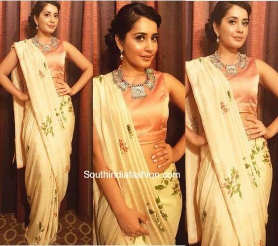 rashi khanna contemporary look