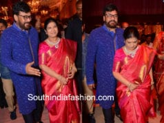 chiranjeevi and surekha at shriya bhupal wedding