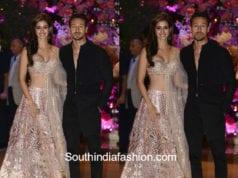 disha pathani and tiger shroff at akash ambani wedding