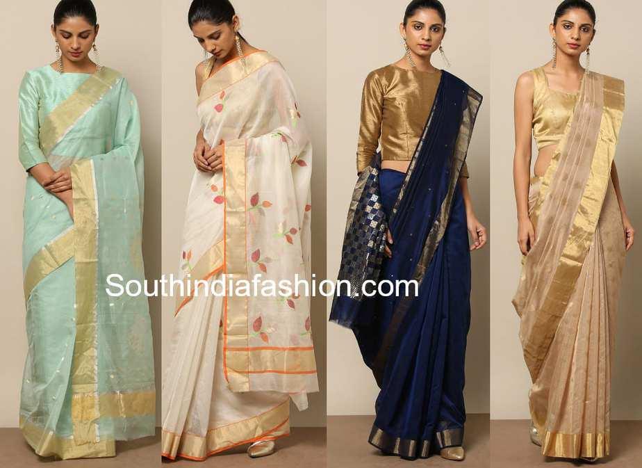 jamdani chanderi sarees